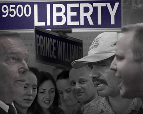 """immigration 9500 liberty In the press release i received for the immigration themed documentary film 9500 liberty, the opening paragraph reads: """"9500 liberty reveals the startling vulnerability of a local government targeted by national."""