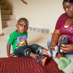 Thanks to Medicaid, Jarez has leg braces that help him run and play as well as any other child.