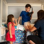 The Medicaid waiver allows Logan to live at home with his family while providing for many of the medical necessities he requires, such as diapers and an adaptive toileting chair.