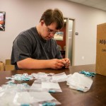 Under Medicaid, Sean receives day services from a developmental disabilities (DD) provider that contracts with companies who need help with various tasks.