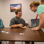These services allow Sean and other adults with developmental disabilities gain job skills and earn wages while performing needed tasks.