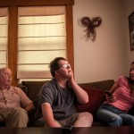 After work, Sean arrives at the home of his sister, who is a licensed caretaker. Their father, Mark, joins them for some quality family time together.