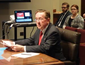 State Senator Al Davis of Hyannis was the sponsor of interim study LR 601.