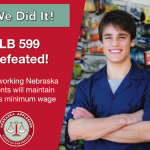 LB 599 Defeated