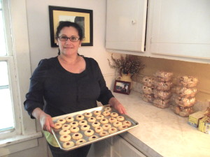 "Dolores de la Torre is the owner of ""Around the World Cookies."" You can find Delores's treats at local farmers' markets."