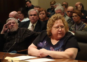 Shelly Sedlak of Seward, Nebraska, testified in support of LB 472 to the Legislature in February 2015.
