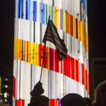 US flag Tower