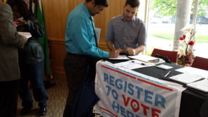 New voters registered to vote at Lincoln Unites!