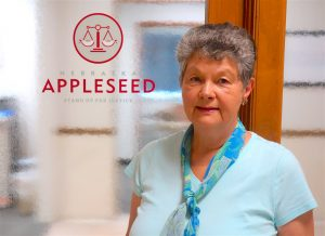 After a mid-life career change, Sue Ellen Wall was hired as Appleseed's first staff attorney.