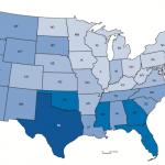 U.S. uninsured rates 2015